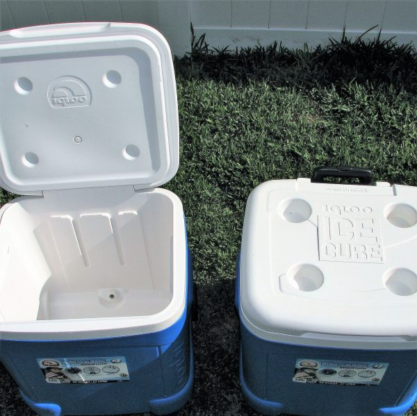 Ice Cooler 60 Quart Wheeled