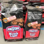 Disposable charcoal grill and briquettes